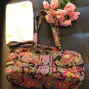 Vera Bradley Diaper Bag in Symphony in Hue